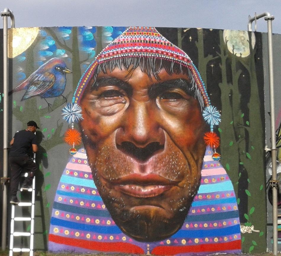 Fresque Festi'Arts-Isaac Barreda