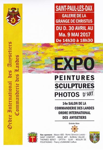 Salon des Anysetiers - Saint-Paul-lés-Dax - 30 avril -9mai 2017