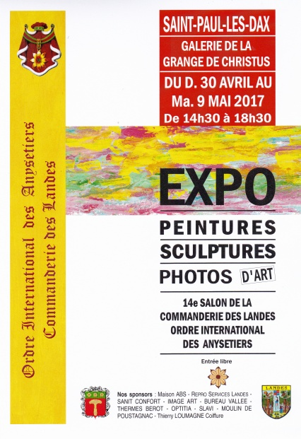 Salon des Anysetiers - Saint-Paul-lés-Dax - 30 avril -9mai 2017