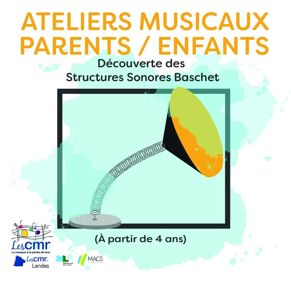 Ateliers musicaux parents/enfants