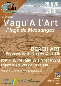 Affiche Vagu'A l'Art
