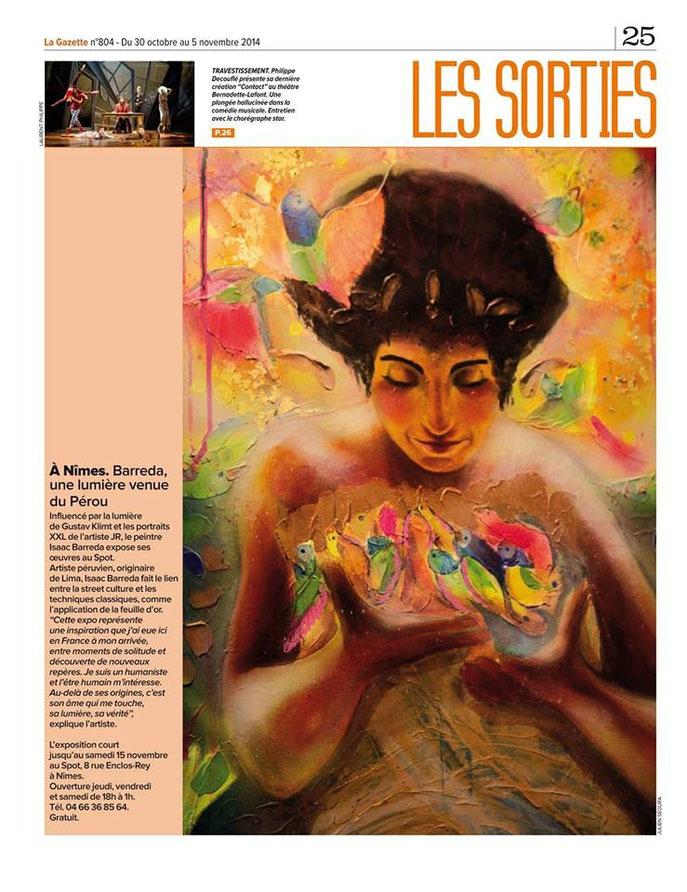 La Gazette - Isaac Barreda