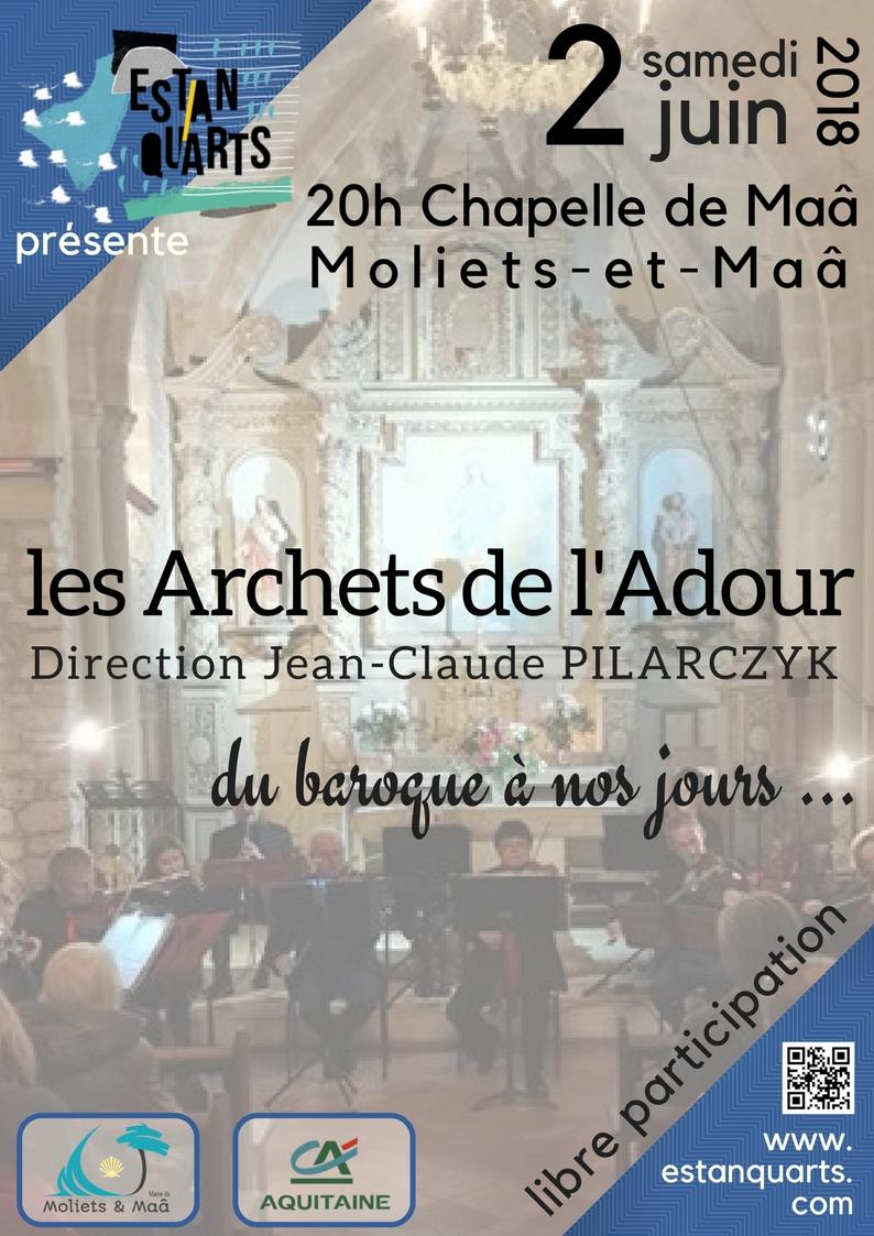 Concert Archets 2 Juin Affiche
