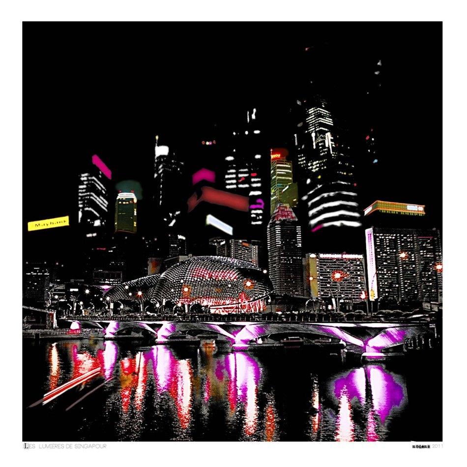 Nodens_Les lumières de Singapour
